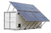 Containerised Eco Power with Solar PV Systems