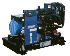 Sdmo t12km single phase diesel generators pacific for Generator sizing for motors