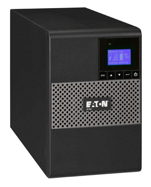 Eaton Battery Monitoring System : Eaton p va tower ups i kva lcd iec
