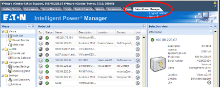 Eaton Intelligent Power Manager Plug-in